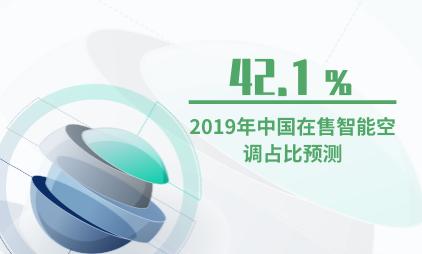 智能家居行业数据分析:2019年中国在售智能空调占比将为42.1%