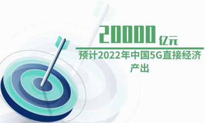 5G行业数据分析:预计2022年中国5G直接经济产出为20000亿元