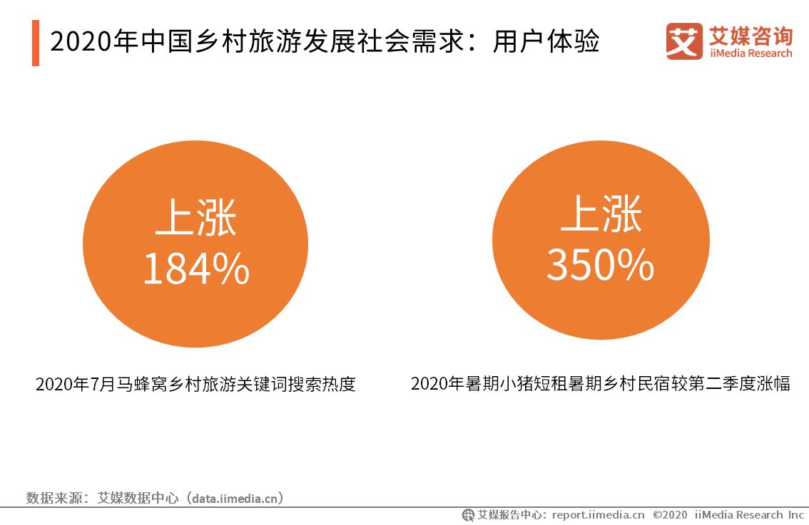 2020年中国乡村旅游发展社会需求:用户体验