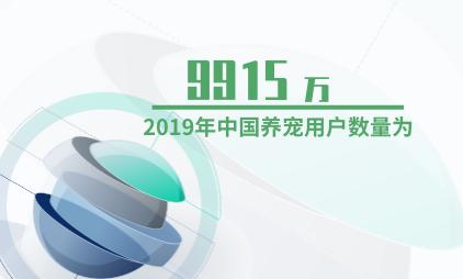 宠物行业数据分析:2019年中国养宠用户数量为9915万