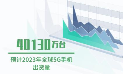 中国5G手机行业数据分析:预计2023年全球5G手机出货量达40130万台