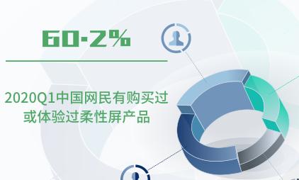 柔性屏行业数据分析:2020Q1中国60.2%网民有购买过或体验过柔性屏产品