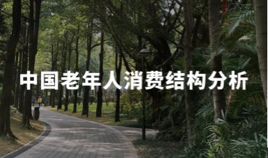 2020H1中国老年人消费结构及渠道分析
