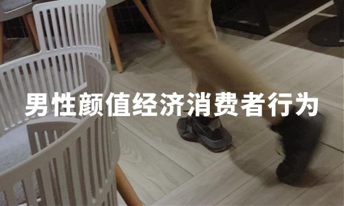 2020中国男性颜值经济消费者行为及特点分析