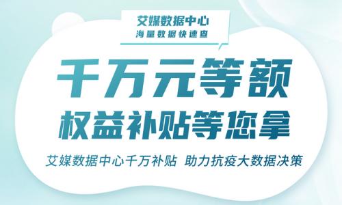 同心抗疫 · 共撑广州 ——艾媒数据中心千万补贴,助力抗疫大数据决策