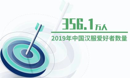 汉服行业数据分析:2019年中国汉服爱好者数量达到356.1万人