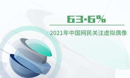 虚拟偶像行业数据分析:2021年中国63.6%网民有关注虚拟偶像