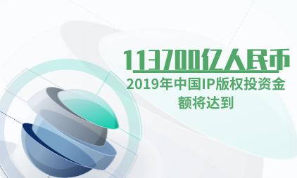 知识版权行业数据分析:2019年中国IP版权投资金额将达到113700亿人民币
