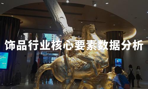 2020年中国饰品行业核心要素数据分析