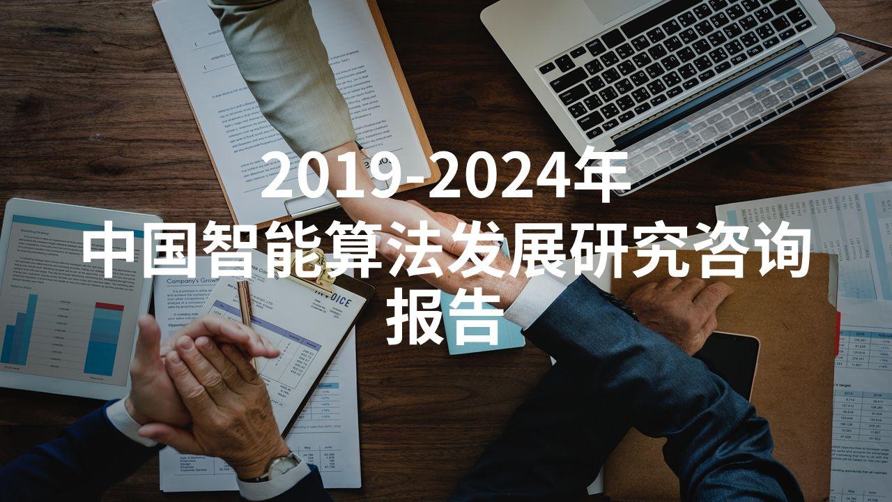 2019-2024年中国智能算法发展研究咨询报告