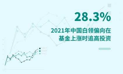 白领群体数据分析:2021年中国28.3%白领偏向在基金上涨时追高投资