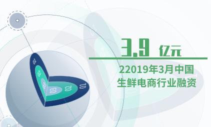 生鲜电商行业数据分析:2019年3月中国生鲜电商行业融资3.9亿元