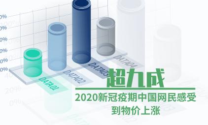 网民消费数据分析:2020新冠疫期中国超九成网民感受到物价上涨