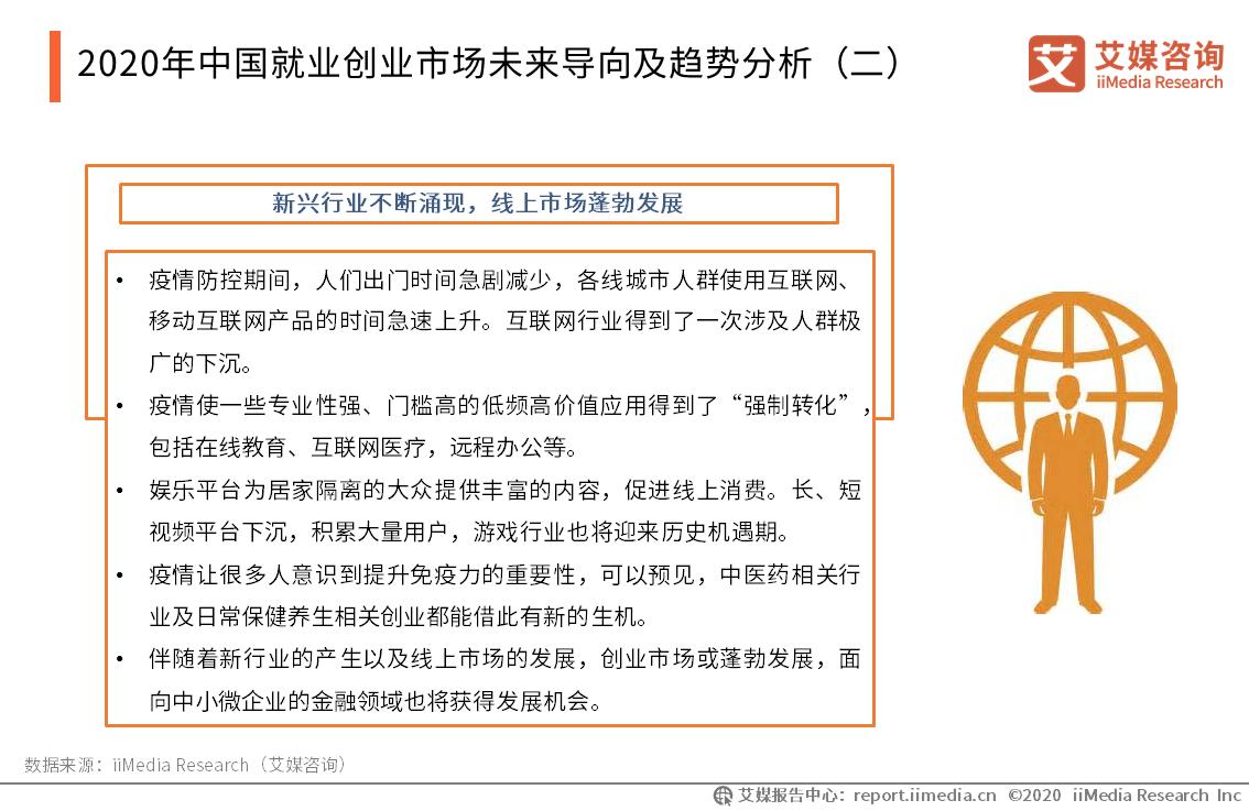 2020年中国就业创业市场未来导向及趋势分析(二)