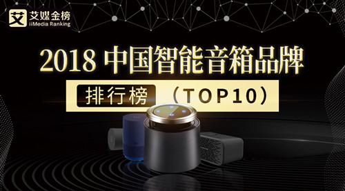 艾媒金榜|2018中国智能音箱品牌排行榜出炉,哪家才是国民爆款担当?