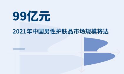 护肤品行业数据分析:2021年中国男性护肤品市场规模将达99亿元