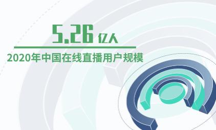 在线直播行业数据分析:2020年中国在线直播用户规模预计达5.26亿人