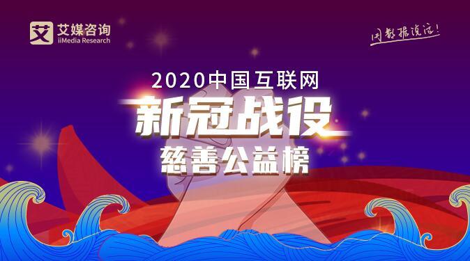 """倒计时2天!《2020中国互联网""""新冠战役""""慈善公益榜》评选报名即将结束"""