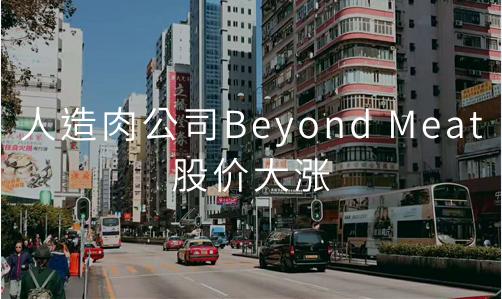 人造肉公司Beyond Meat股价大涨,2019中国人造肉行业发展现状及趋势分析