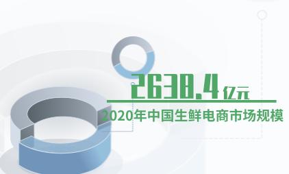 电商行业数据分析:2020年中国生鲜电商市场规模预计达2638.4亿元