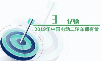 交通行业数据分析:2019年中国电动二轮车保有量为3亿辆