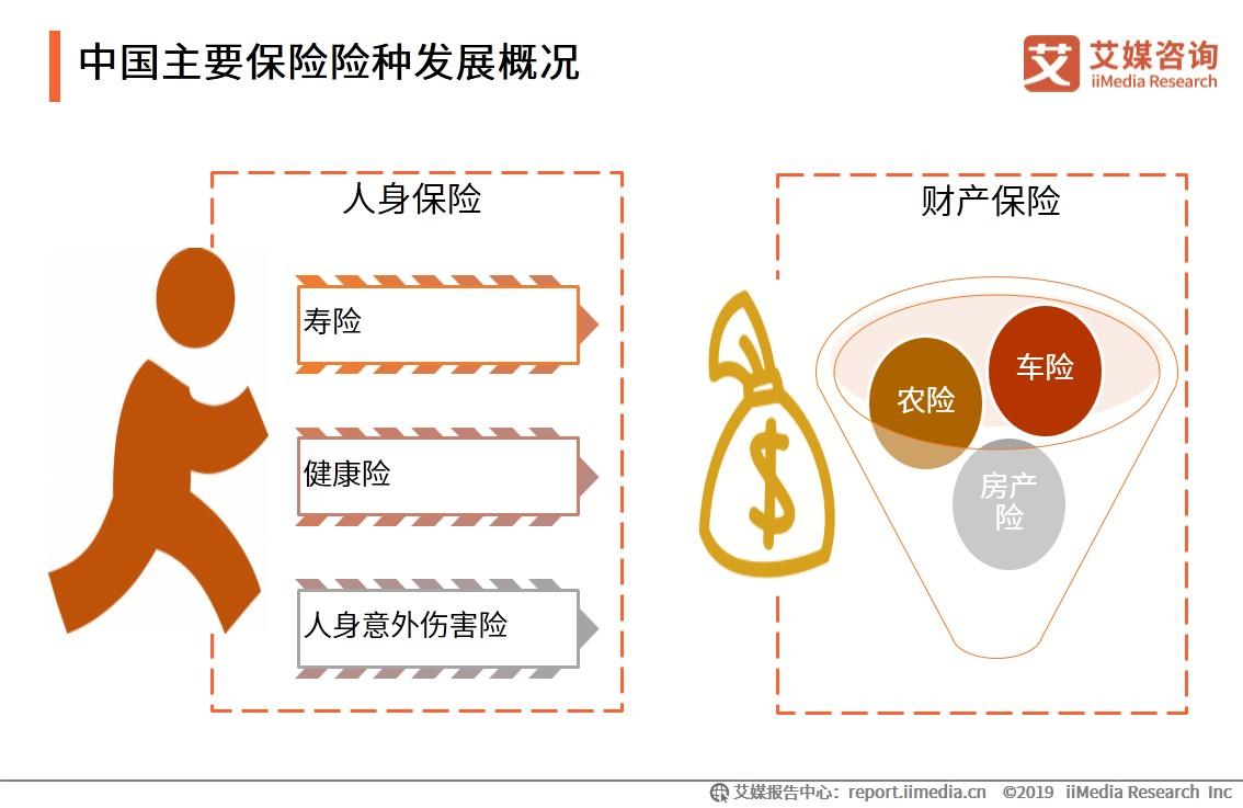 中国主要保险险种发展概况