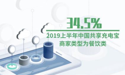 共享充电宝行业数据分析:2019上半年中国34.5%共享充电宝商家类型为餐饮类