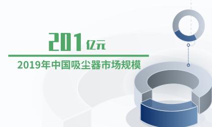 家电行业数据分析:2019年中国吸尘器市场规模达201亿元