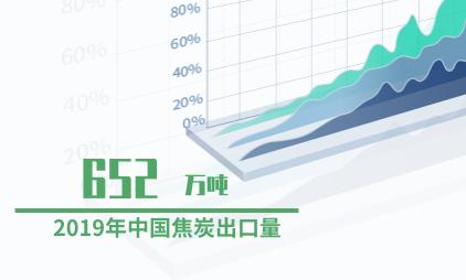 化工行业数据分析:2019年中国焦炭出口量为652万吨