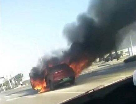 风口浪尖上的威马:EX5公路起火,一周前被吉利起诉