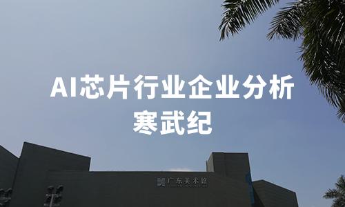 2020上半年中国AI芯片行业企业分析:寒武纪