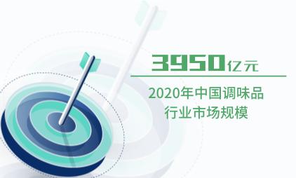 调味品行业数据分析:2020年中国调味品行业市场规模达3950亿元