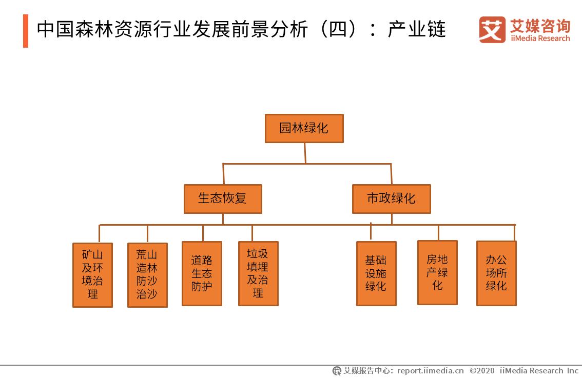 中国森林资源行业发展前景分析(四):产业链