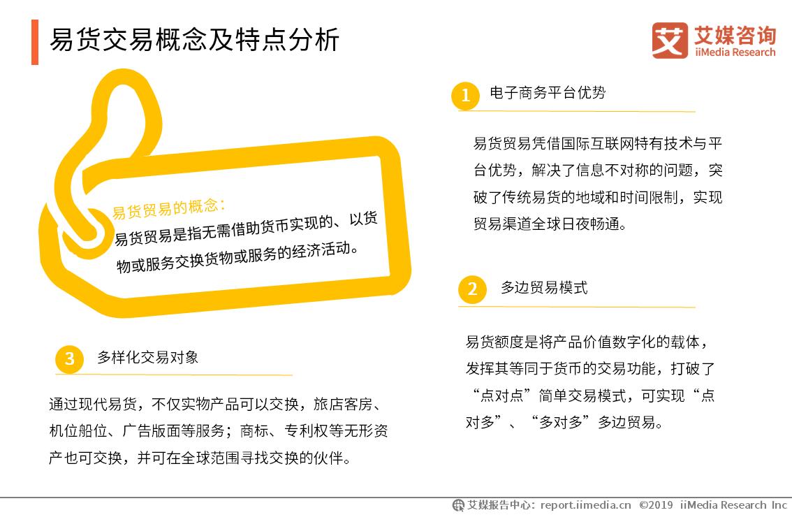2019年中国易货交易行业发展动力分析和痛点分析