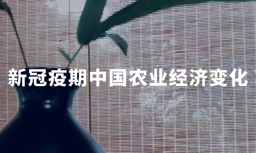 """2020年新冠疫期中国农业经济变化、农产品舆情及抗""""疫""""助农行动分析"""