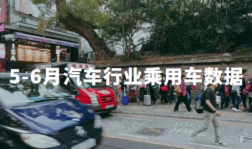 2020年5-6月中国汽车行业乘用车市场数据及车企资讯分析:蔚来汽车
