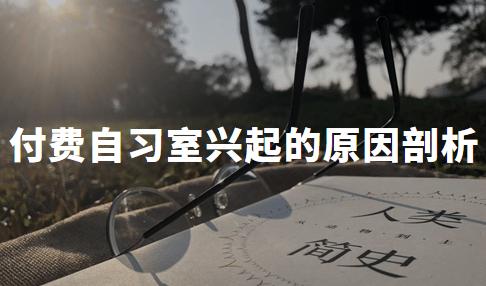 为什么付费自习室火了?2020年H1中国付费自习室兴起的原因剖析