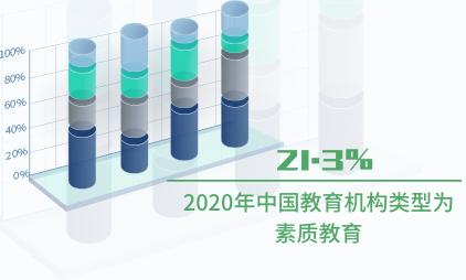 教育行业数据分析:2020年中国21.3%教育机构类型为素质教育