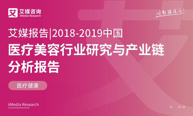 艾媒报告 |2018-2019中国医疗美容行业研究与产业链分析报告