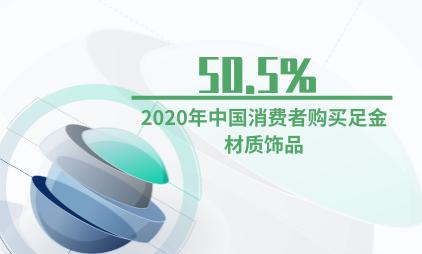 饰品行业数据分析:2020年50.5%中国消费者购买足金材质饰品