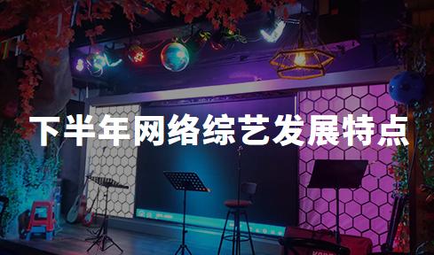 2020下半年中国网络综艺发展特点分析