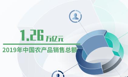 农业数据分析:2019年中国农产品销售总额预计达1.26万亿元