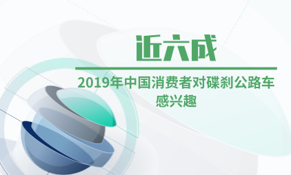 自行车行业数据分析:2019年近六成中国消费者对碟刹公路车感兴趣