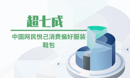 消费行业数据分析:超七成中国网民悦己消费偏好服装鞋包