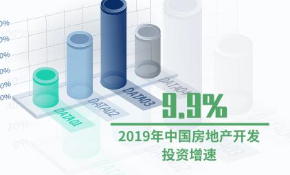 房地产行业数据分析:2019年中国房地产开发投资增速为9.9%