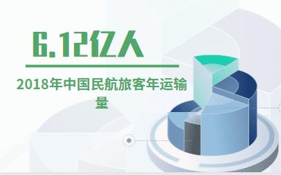 航空市场数据分析:2018年中国民航旅客年运输量为6.12亿人