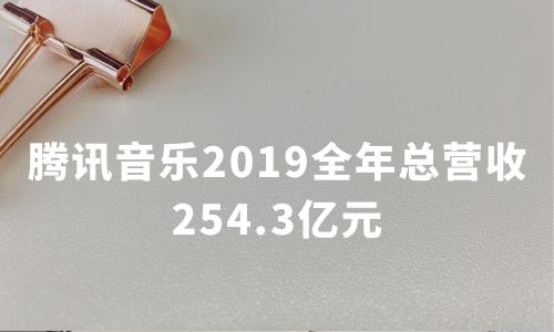 财报解读 | 腾讯音乐2019全年总营收254.3亿元,付费用户创纪录增长