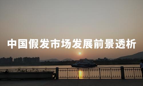 新增假发相关企业超8000家,中国假发市场发展前景透析