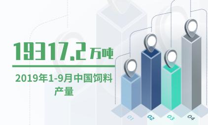 农业数据分析:2019年1-9月中国饲料产量达19317.2万吨