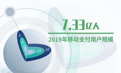 中国移动支付行业数据分析:2019年移动支付用户规模将达7.33亿